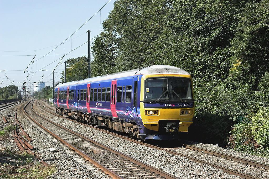 165136 Hanwell 7/9/2012<br /> 2P40 0936 Oxford-London Paddington