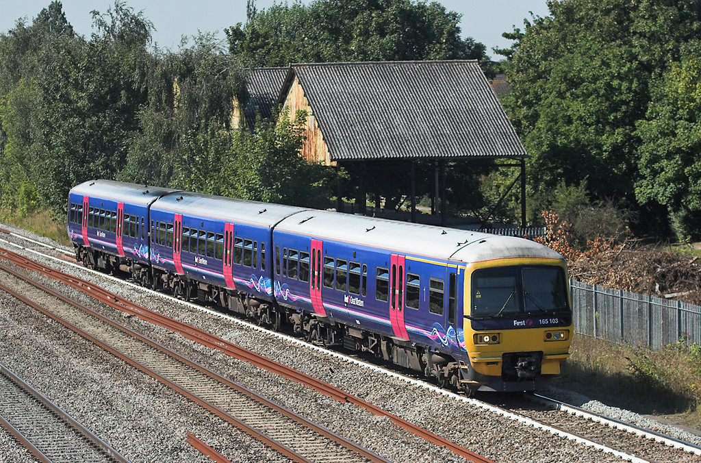 165103 West Drayton 7/9/2012<br /> 2P49 1248 Reading-London Paddington