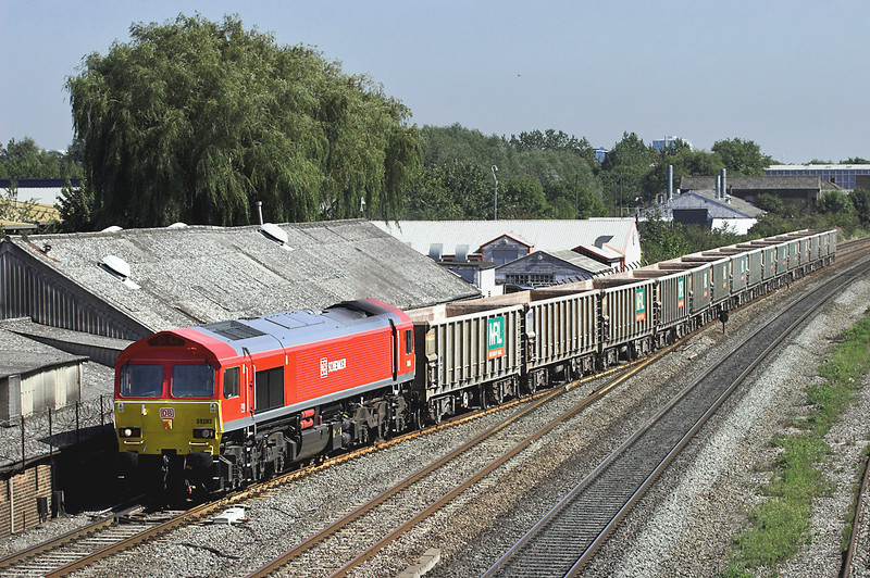 59203 West Drayton 7/9/2012<br /> 7Z61 1316 Acton Yard-Thorney Mill