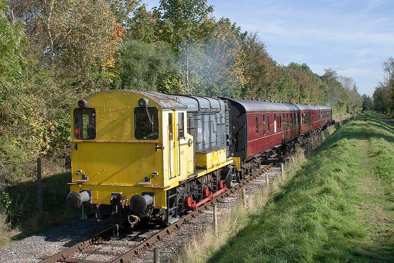 Nederlandse Spoorwegen 663, Preston Docks 7/10/2012
