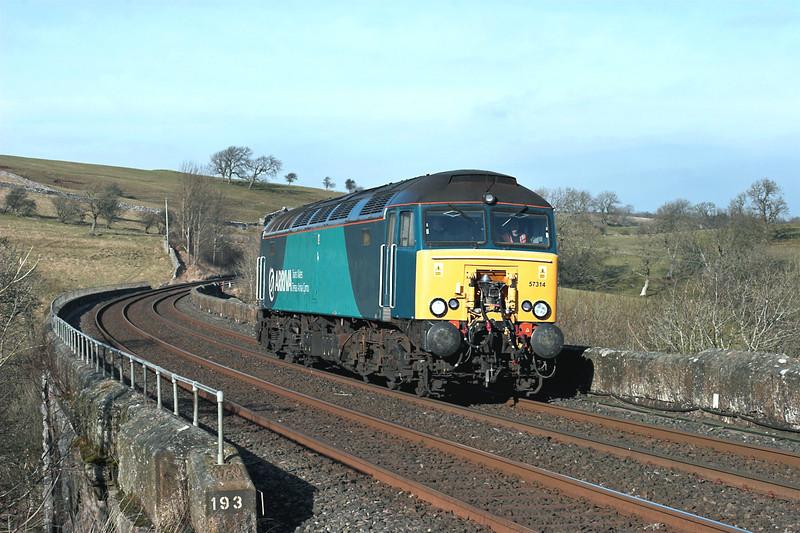 57314 Smardale Viaduct 8/2/2012<br /> 0P99 1120 Carlisle-Preston