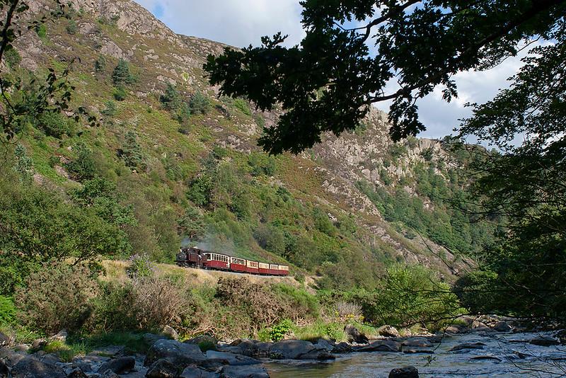 'Merddin Emrys', Aberglaslyn Pass 9/8/2012<br /> 1645 Porthmadog-Rhyd Ddu