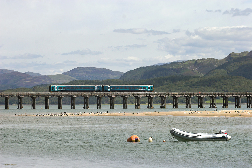 158839 Barmouth 9/8/2012<br /> 2G45 1130 Pwllheli-Birmingham International