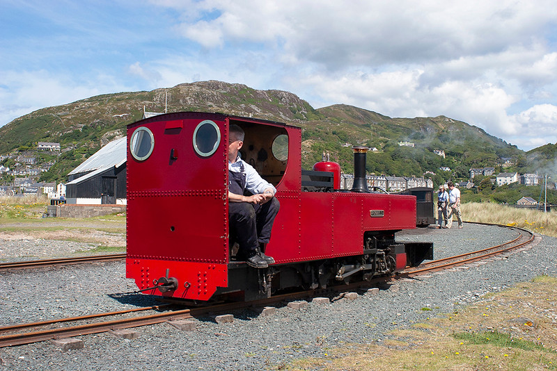 'Russell', Barmouth Ferry 9/8/2012