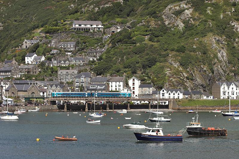 158839 Barmouth 9/8/2012<br /> 2G45 1130 Pwllheli-Birmingham International