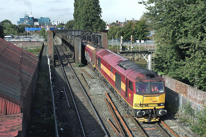 60065 Warrington Latchford 9/10/2012<br /> 6F78 1130 Fiddlers Ferry PS-Liverpool Bulk Terminal