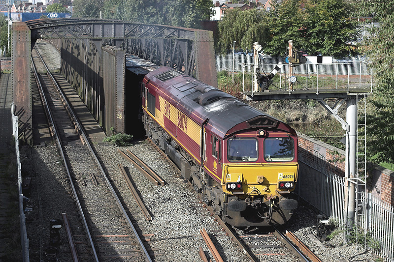 66074 Warrington Latchford 9/10/2012<br /> 6C40 1233 Fiddlers Ferry PS-Newbiggin