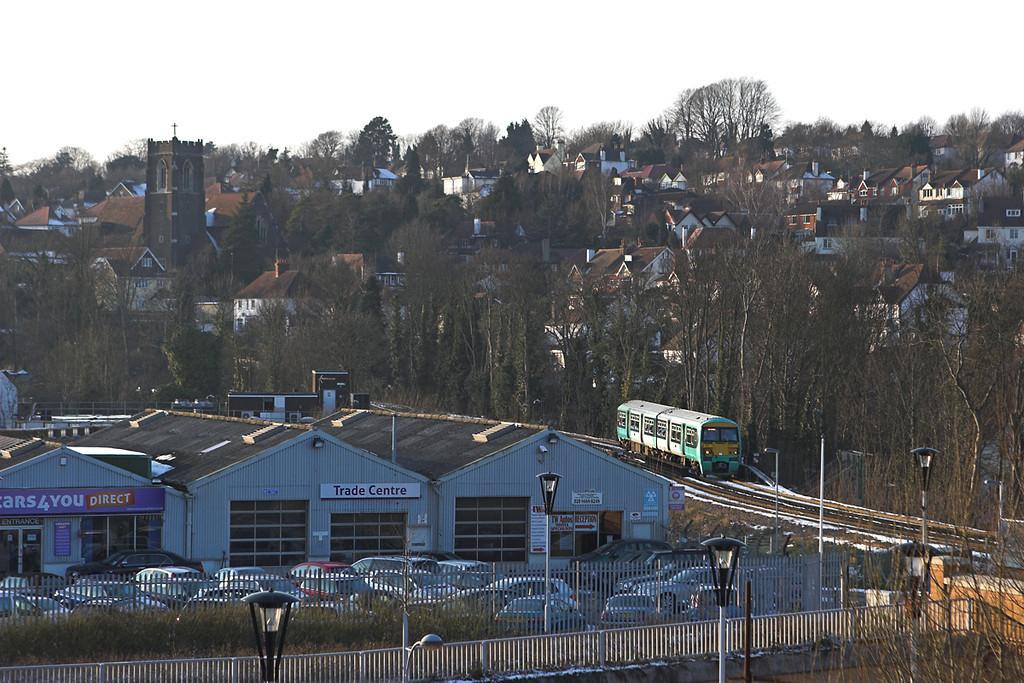 456017 Couldson Town 10/2/2012<br /> 2D13 1533 Tattenham Corner-Purley