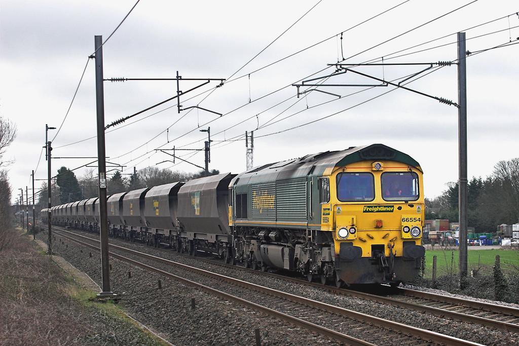 66554 Brock 10/3/2012<br /> 4C20 0800 Fiddlers Ferry PS-Carlisle Yard