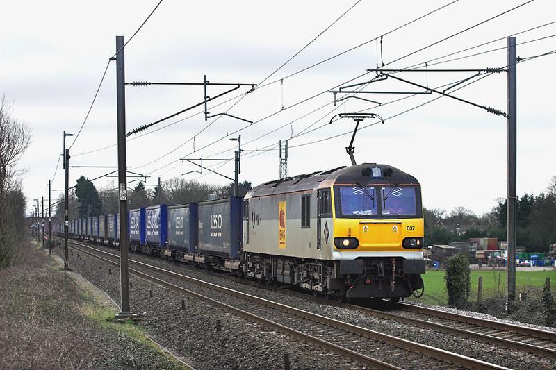 92037 Brock 10/3/2012<br /> 4S43 0716 Daventry-Mossend