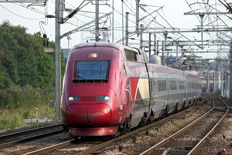 4322 Saint-Denis 10/9/2012<br /> THA9377 1855 Paris Nord-Bruxelles Midi