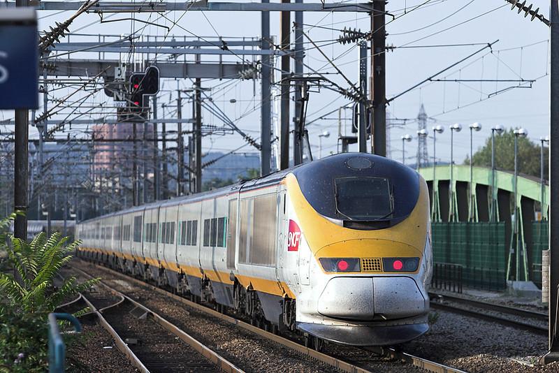 3310 and 3309, Saint-Denis 10/9/2012<br /> TGV7271 1816 Paris Nord-Tourcoing