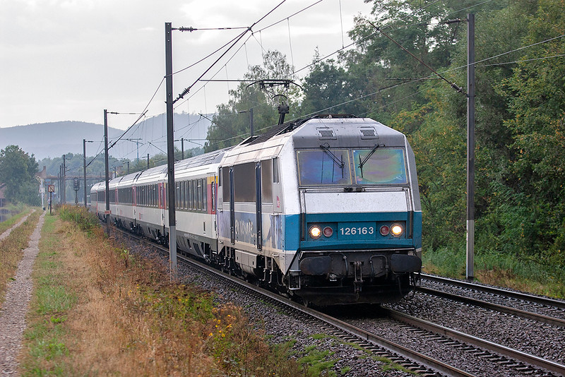 126163 Steinbourg 11/9/2012<br /> IC97 1309 Bruxelles Midi-Basel SNCF