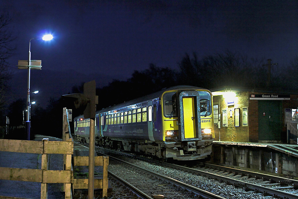 153315 and 153351, Green Road 12/1/2012<br /> 2C32 0600 Maryport-Lancaster