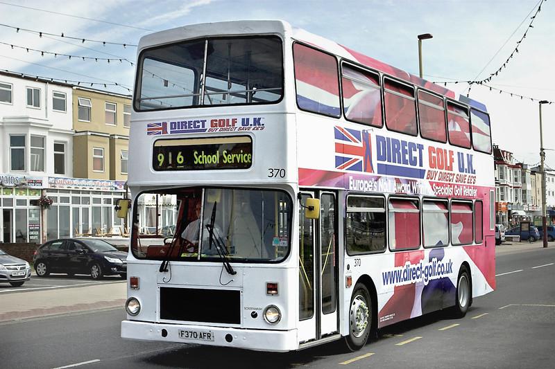 370 F370AFR, Blackpool 12/7/2012