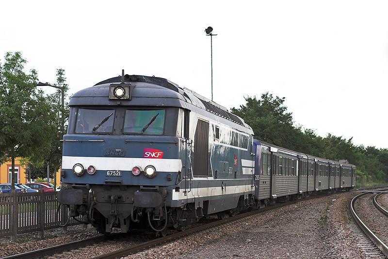 567521 Bischwiller 12/9/2012<br /> 830558 1805 Strasbourg-Wissembourg