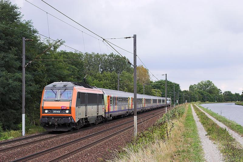 426149 Steinbourg 13/9/2012<br /> 835024 1720 Strasbourg-Nancy Ville