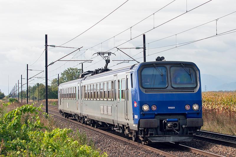 111501 Huttenheim 13/9/2012<br /> 831322 1130 Sélestat-Strasbourg