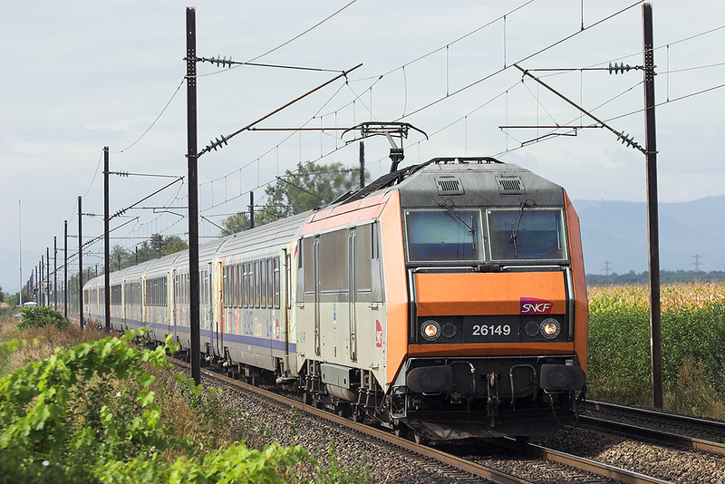 426149 Huttenheim 13/9/2012<br /> 96218 0921 Basel SNCF-Strasbourg