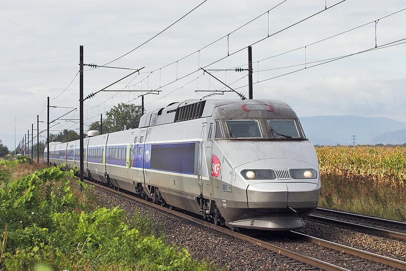 TGV503 Huttenheim 13/9/2012<br /> TGV2356 1011 Colmar-Paris Est
