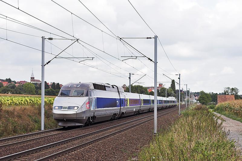 TGV526 Hochfelden 13/9/2012<br /> TGV2440 1546 Strasbourg-Paris Est