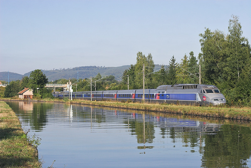 TGV4517 and TGV4525, Steinbourg 14/9/2012