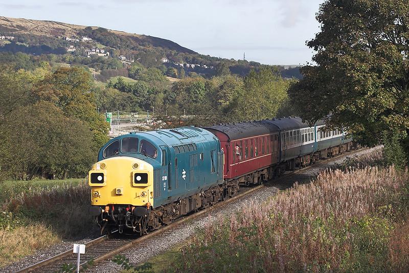 37109 Summerseat 14/10/2012<br /> 2J66 1056 Rawtenstall-Heywood
