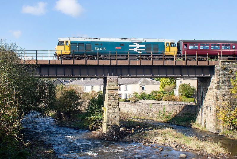 50015 Summerseat 14/10/2012<br /> 2J71 1115 Heywood-Rawtenstall