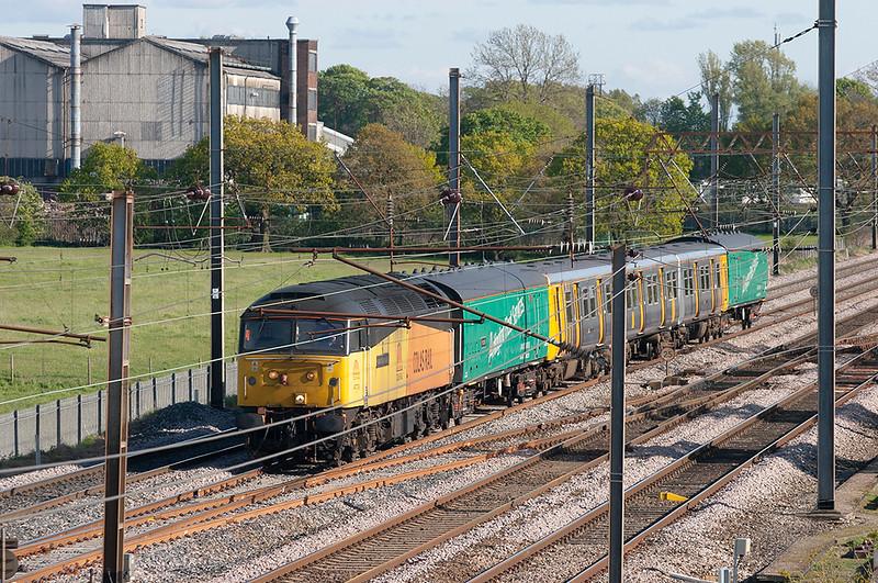 47739 and 507012, Farington 16/5/2012<br /> 5Z08 1438 Birkenhead North TMD-Kilmarnock