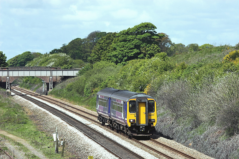 156471 Kirkham Tip 16/5/2012<br /> 2F69 1137 Blackpool North-Liverpool South Parkway