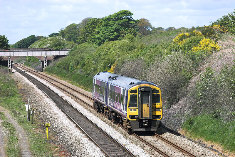 158815 Kirkham Tip 16/5/2012<br /> 1B27 1129 Blackpool North-York