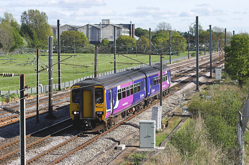 156425 Farington 16/5/2012<br /> 2N88 1636 Liverpool South Parkway-Blackpool North