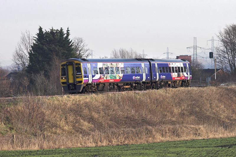 158860 Farington 17/1/2012<br /> 1B28 1109 York-Blackpool North