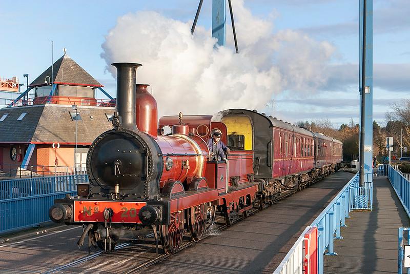 Furness Railway No.20, Preston Docks 19/2/2012