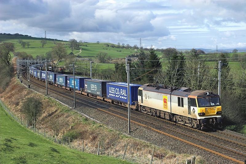 92037 Lambrigg 19/3/2012<br /> 4S43 0617 Daventry-Mossend