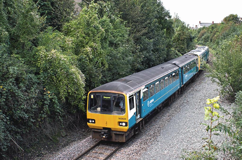 143624 and 142077, Penarth 19/10/2012<br /> 2P73 1525 Bargoed-Penarth