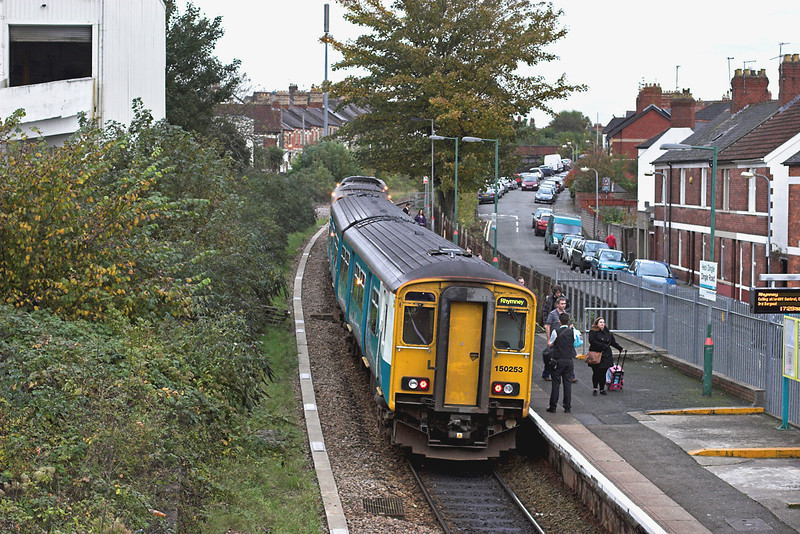 150253 and 142077, Dingle Road 19/10/2012<br /> 2P78 1632 Bargoed-Penarth