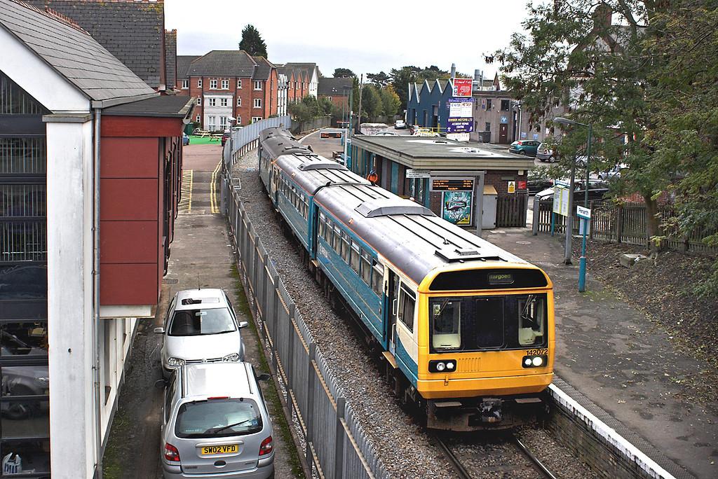 142072 and 143624, Penarth 19/10/2012<br /> 2D60 1632 Penarth-Bargoed
