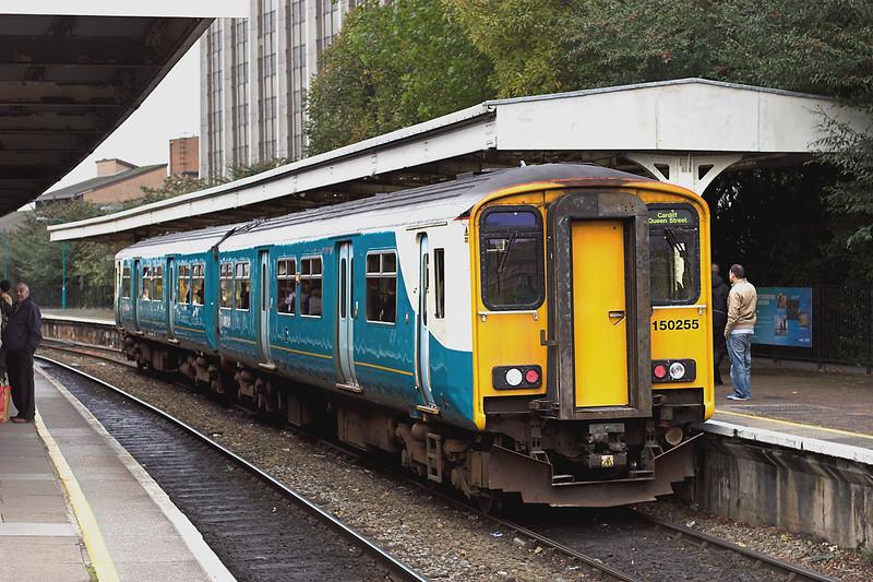 150255 Cardiff Queen Street 19/10/2012<br /> 2B94 1600 Cardiff Queen Street-Cardiff Bay