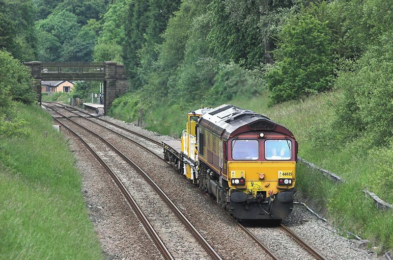 66025 Ramsgreave 20/6/2012<br /> 7K05 1218 Carlisle Yard-Basford Hall