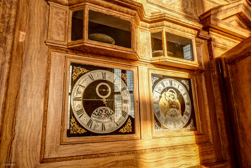 Clocks in the Octagon Room at the Royal Observatory.
