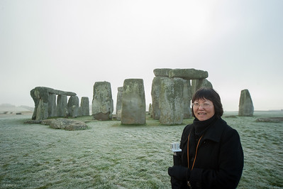 Stonehenge visit (2nd time for Jean).