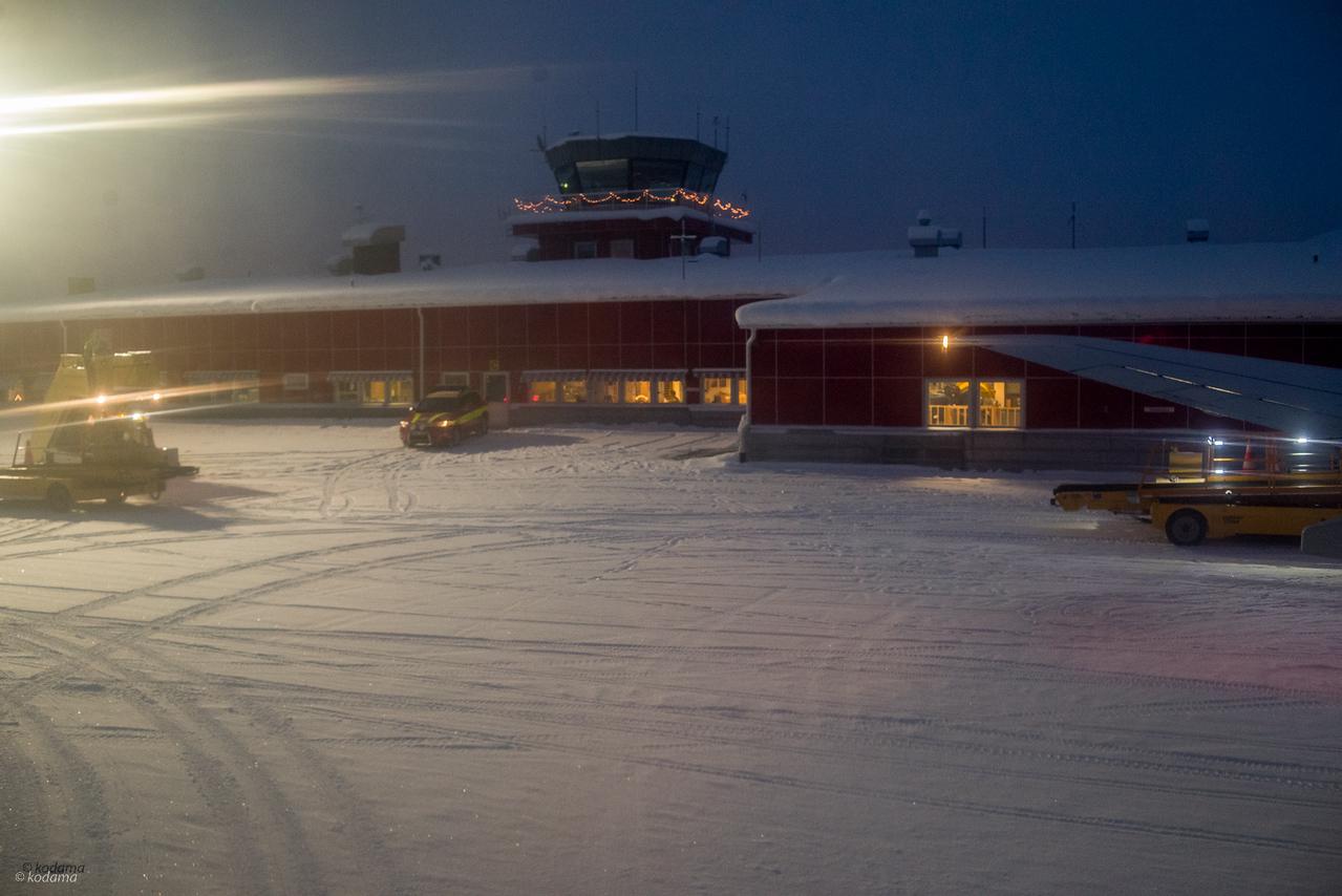 Kiruna Airport.