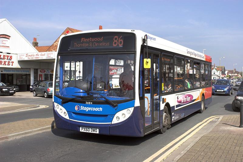 36184 PX60DWO, Cleveleys 21/5/2012