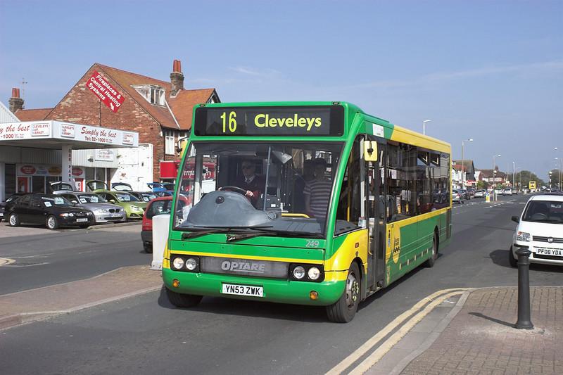 249 YN53ZWK, Cleveleys 21/5/2012