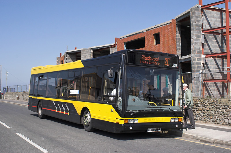 219 T880RBR, Knott End 21/5/2012