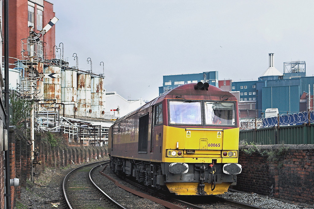 60065 Littons Mill LC 22/3/2012<br /> 6F74 1211 Liverpool Bulk Terminal-Fiddlers Ferry PS