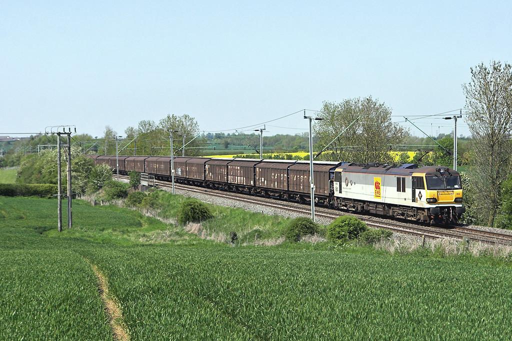 92003 Long Buckby 22/5/2012<br /> 6A42 1442 Daventry-Wembley Yard