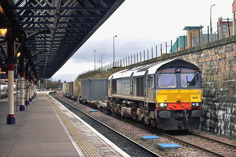 66301 Dundee 25/1/2012<br /> 4A13 1220 Grangemouth-Aberdeen