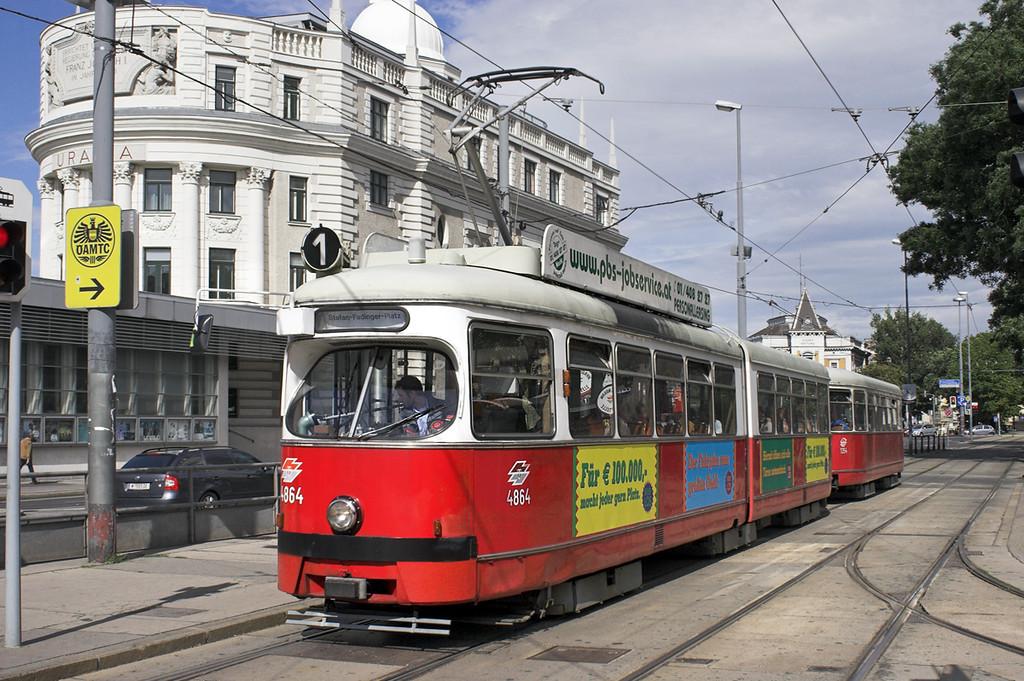 4864 and 1354, Julius Raab Platz 25/6/2012